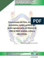 120130 - conclusiones foro
