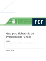 Guia de Elaboração de Prospectos de Fundos e Investimento ANBIMA