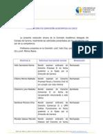 Resolución 1-2012