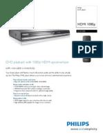 Philips DVD Leaflet Dvp3980 f7 Pss Aen