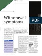 Iraq War - withdrawal symptoms