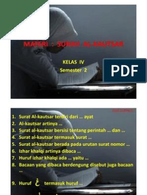 Soal Latihan Al Kautsar Compatibility Mode