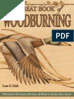 Great Book of Wood Burning - Lora S. Irish