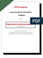 IIP Program for High-Hazard Industry Employers