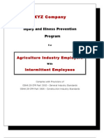 IIP Program for Agriculture Industry Employers With Intermittent Employees