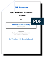 IIP Program for Workplace Security