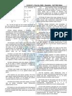 Exercícios sobre razão, proporção e  regra de três