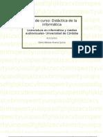 Plan de curso Didáctica de la informática