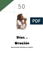 50 dias de oracion