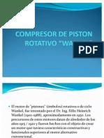 Compresor de Piston Rotativo