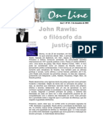 John Rawls o Filósofo Da Justiça