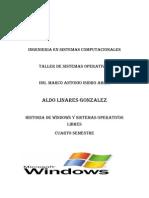 Historia de Windows y Sistemas Operativos Libres