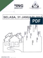 Scan Kliping Berita Perumahan Rakyat  31 Januari 2012