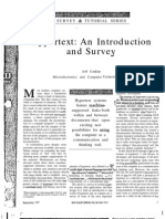 Hypertext an Introduction and Survey