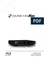 Dune HD Max Quick Start Guide