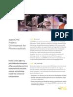 Aspenone Process Development Pharmaceuticals