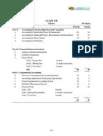 2013 Syllabus 12 Accountancy