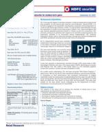 Oil India Ltd IPO Note HDFC Sec