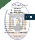 CATEDRA MORAZANICA informe