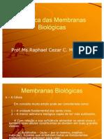 Biofísica das Membranas Biológicas
