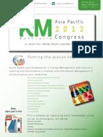 KM Australia 2012 - Asia Pacific Congress