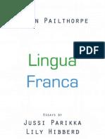 Ligua Franca 2012 catalogue essays