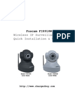 Foscam FI8918W Quick Installation User Manual2