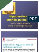 Hipertensiunea Arteriala Pulmonara Curs2010