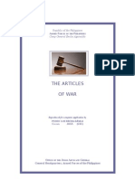 Afp Articles of War