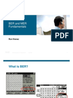BER and MER Fundamentals