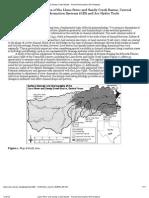 Llano River and Sandy Creek Basins - Fluvial Geomorphic GIS Analyses