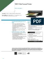 HP Officejet 7000 Wide A3+