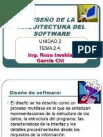2.4.DiseÑo de La Arquitectura Del Software