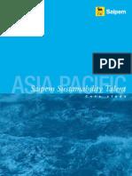 SAIPEM Oil Gas - Asia Pacific