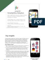 Mobile Internet & Smartphone Adoption