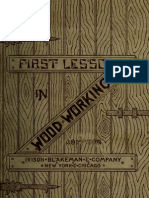 First Lessons in Wood-working 1888