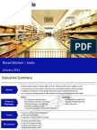 Market Research Report :Retail Market in India 2012