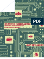 Stuxnet as Cyber Warfare Distinction and Proportionality on the Cyber Battlefield