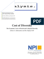 Cost of Diversity