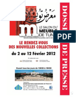 Dossier de Presse Salon Du Meuble 2012- (Sans Photos)