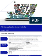 Market Research Report :Mobile Application Market in India 2012