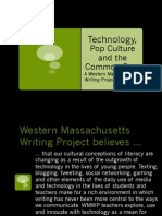 Pop Culture, Technology and the Common Core PDF