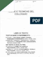 Teorie e Tecniche Del Colloquio