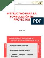 Taller Instructivo de Proyecto Otr- Ure
