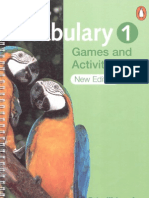 Vocabulary Games Amp Activities 1 Penguin English Photocopiables