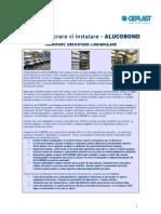 Alucobond Ghid de Instalare
