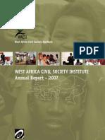 WACSI 2007 Annual Report