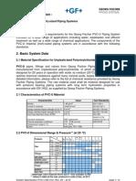GF System Specification PVC-U BS Inch