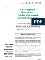 Le Management Interculturel Esquisse d'Un Concept Paradigm a Ti Que Actuel