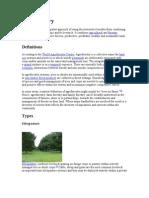 Agroforestry